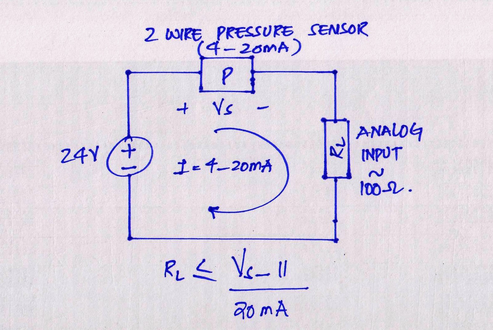 Current Loop Wiring Diagram Electrical Tester And Pressure Monitor For A 4 20ma 10 Bar Ground Isolator Circuit