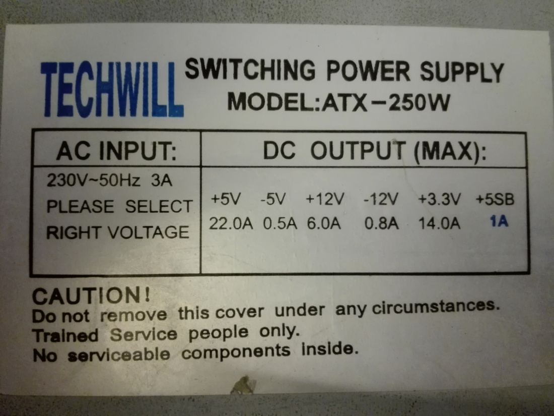 Regulated Half Bridge Switching Power Supply Using Atx Transformer An Ordinary Dc Also Called Unregulated The Rated Specs For This Particular Img 20170212 230645
